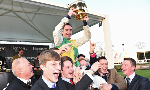 Many Clouds' Hennessy Gold Cup victory lifts tearful Oliver Sherwood